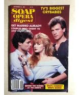 SOAP OPERA DIGEST September 22, 1987   TV's Biggest Crybabies - $9.89