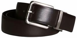 New Calvin Klein Men's Reversible Smooth Leather 32mm Belt Black & Brown 7545696 image 4