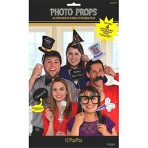 New Years Photo Props Party Fun 13 Ct Personalizable Chalk - $7.40