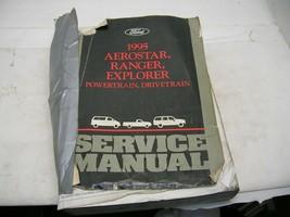 1995 Aerostar,Ranger,Explorer Powertrain,Drivetrain Service Manual - $25.73