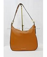 NWT Michael Kors Raven Large Leather Shoulder bag/Hobo in Luggage Brown - $199.00
