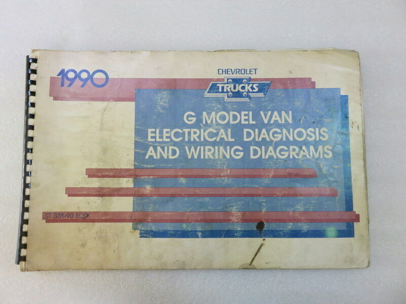 Primary image for 1990 Chevy Trucks G Model Van Electrical Diagnosis & Wiring Diagrams OEM Manual