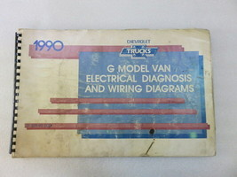 1990 Chevy Trucks G Model Van Electrical Diagnosis & Wiring Diagrams OEM Manual - $7.92