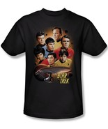 Star Trek Classic TV Series Cast, Heart of the Enterprise T-Shirt NEW UNWORN - $19.25