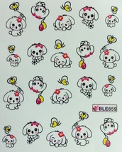 Bang Store Nail Art Water Decals Cute Puppy Dog With Balloons So Cute And Funny - $2.11