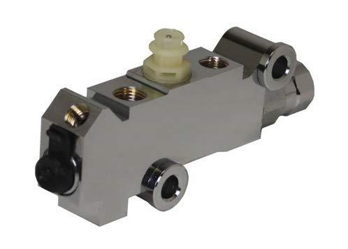 A-Team Performance GM DISC/DISC Front Disc Rear Brake Chrome Proportioning Valve