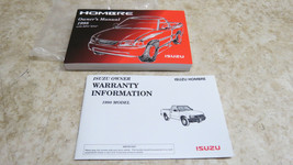 NOS 1998 Isuzu Hombre Truck Owner's Owner Manual User Guide S XS 2.2L 4.... - $22.50