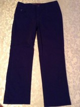 Girls Size 14S  Justice capri pants uniform blue - $13.99