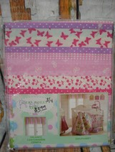 "LAURA ASHLEY Baby Owlphabet Window Valance 14"" x 58""  - $10.88"