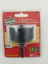 "Vermont American 18334 Carbon Steel Hole Saw, 2-1/8"" - $11.24"
