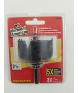 """Vermont American 18334 Carbon Steel Hole Saw, 2-1/8"""" - $11.24"""