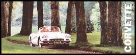 1960 Corvette Color Dealer Sales Brochure, 60 Vette GM - $9.30