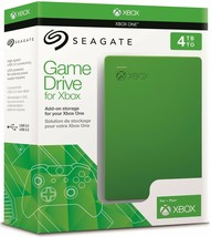 New Portable Seagate Game Drive for Xbox One Compact Size 4TB Green STEA4000402) - $146.52