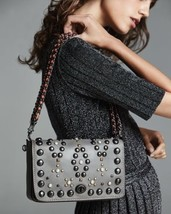 Coach 1941 Dinky 24 Leather Crossbody Bag, Heather Gray - $453.48