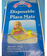 Disposable Baby King Place Mats Table Topper Mat Children Blue 8 Pack - $8.95