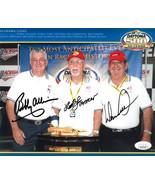 The Alabama Gang- Bobby Allison/Donnie Allison/Red Farmer signed NASCAR ... - $74.95