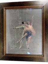 August von Münchhausen (Mittelhoch Century Ny ) Pastell auf Papier Ballet - $276.21