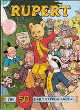 Rupert  Annual 1985  50th Daily Express Annual illustrated John Harrold ... - $28.64