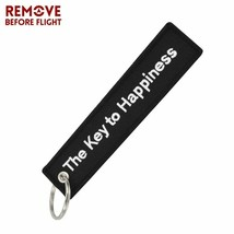 The Key to Happiness key tag chain ring for home car boat cabin motorcycle - $3.61