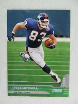 Pete Mitchell New York Giants 2000 Topps Football Card 2 - $0.98