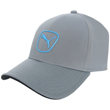 Puma 2.0 Gray with blue Logo Hat- Adjustable - $18.95