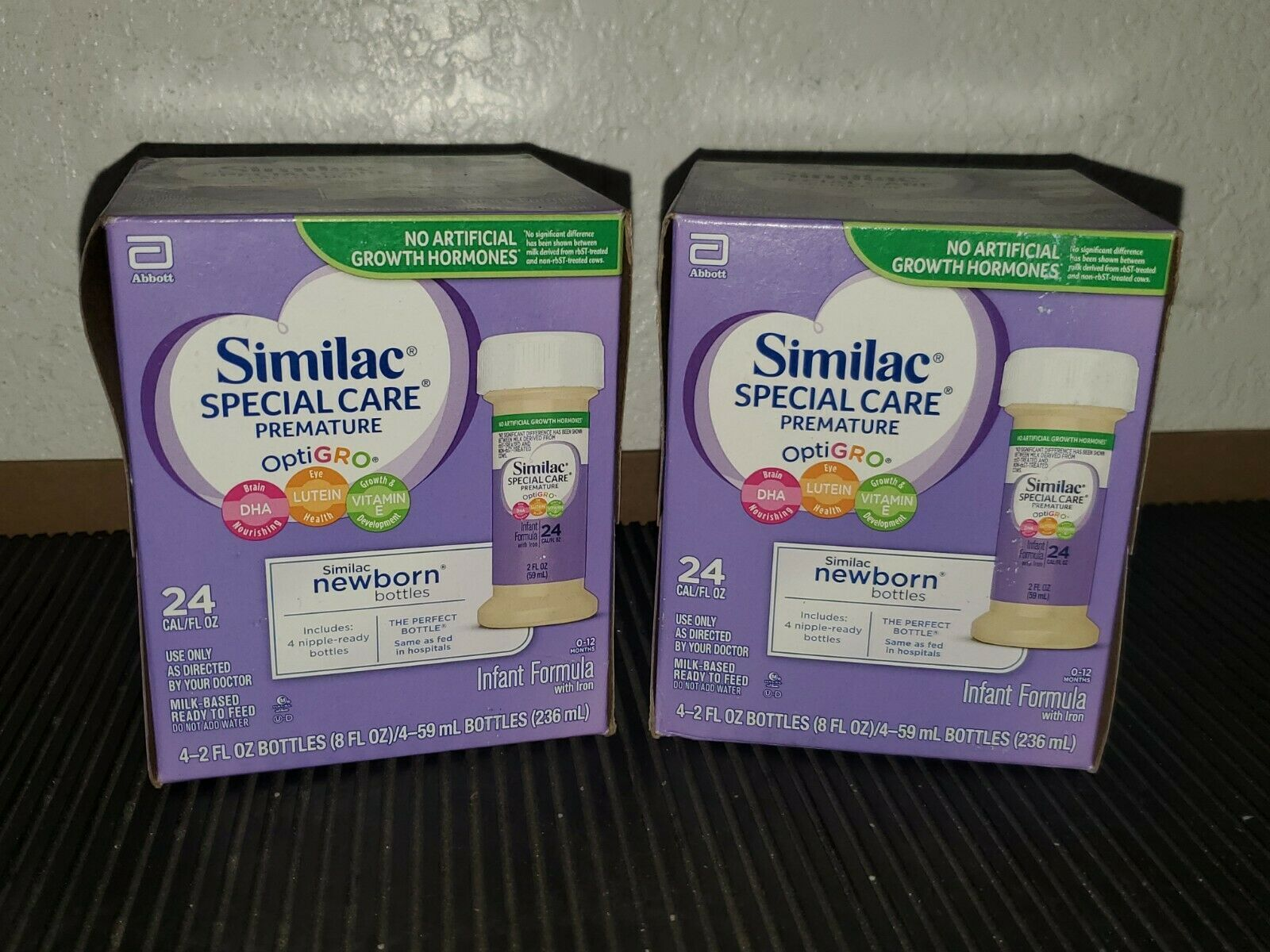 SIMILAC 2oz SPECIAL CARE HIGH PROTEIN PREMATURE FORMULA 03/2021 LOT OF 8x - $18.69