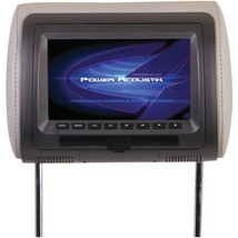 Power Acoustik HDVD-71CC 7 LCD Universal Headrest Monitor with DVD, IR &... - $136.59