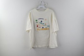 Vintage 90s Streetwear Mens Large St Thomas Virgin Island Spell Out T-Sh... - $24.70