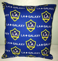 Galaxy Pillow La Galaxy Pillow LA Galaxy MLS Handmade in USA Pillow Socc... - $9.97