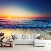 """3D Wallpaper """"Sunset on the Beach""""  - $35.00+"""