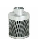 "Phat Filter 4"" x 8"" 150 CFM Greenhouse Grade Carbon Air Purification Filter - $85.07"