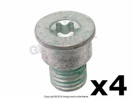 Porsche Cayenne Front And Rear L And R Brake Disc Set Screw Set Of 4 Genuine - $20.90