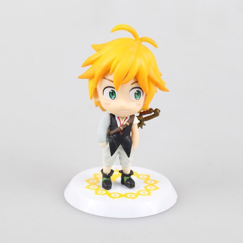 The Seven Deadly Sins Meliodas And Elizabeth Anime Figures Dragon's Sin Of Wrath