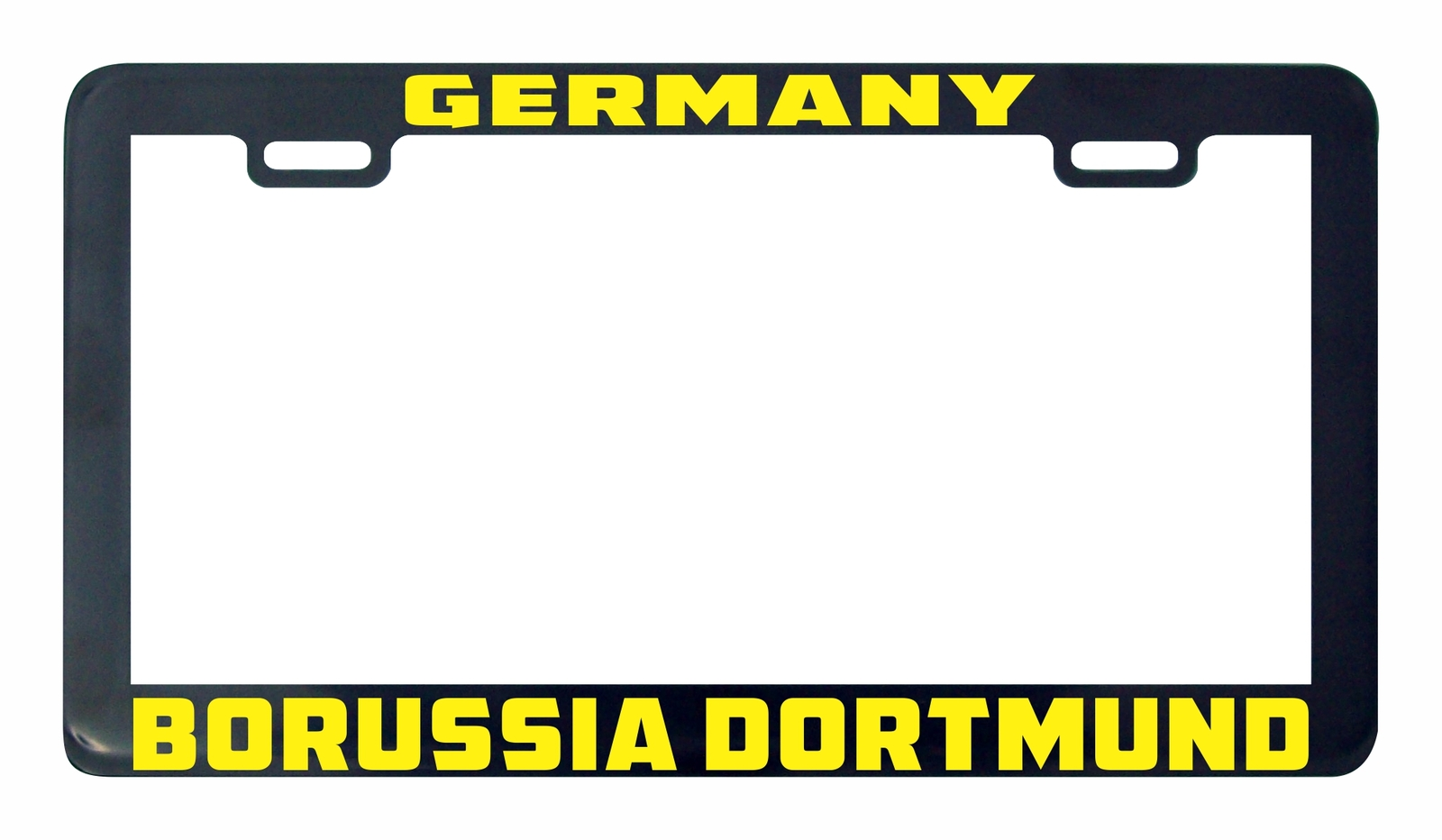 Primary image for Borussia Dortmund Germany futbol soccer license plate frame holder tag