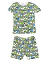 Children's Place Dino Dinosaurs Sleepwear Tee Shirt Shorts Pajamas  Set ... - $6.92