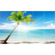 Beach Photo Tile Murals BZ30009. Kitchen Backsplash Bathroom Shower Wall Murals - $150.00+