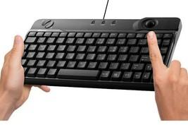 Qsenn PTS-K8100UT Korean English Trackball Mini Keyboard Mouse Key 10keyless image 2
