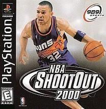NBA ShootOut 2000 (Sony PlayStation 1, 1999) - $11.87
