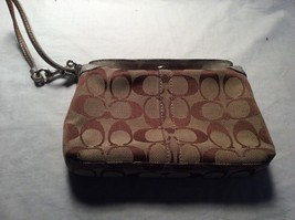 Authentic Coach Black Wristlet Foldover lock - $19.80