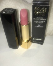 Chanel Rouge Allure Velvet Luminous Lipstick - #34 La Raffinee - $38.35