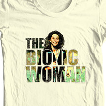 Bionic Woman t-shirt retro TV show Six Million Dollar Man Free Shipping NBC132 image 1