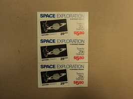 USPS Scott 2568-77 29c 1991 Space Exploration 3 Books Of 20 60 Stamps 6 ... - $81.76