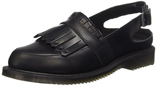 Dr. Martens Women's Valentine Mule, black, 5 UK/7 M US