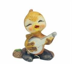 Josef Original anthropomorphic duck figurine duckling Japan porcelain ba... - $24.70