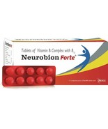 Neurobion Forte Tablet - Vitamin B Complex with B12 - 600 Tablets - $118.80