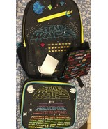 Brand New Disney Star Wars School Backpack with Matching Insulated Lunch... - $55.42