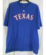 Texas Rangers Lee #33 Majestic T-Shirt XL - $11.87