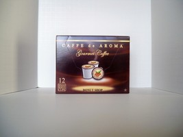 Caffe de Aroma Donut Shop 12 Single Serve K-Cups Free Shipping OK for 2.0 - $9.99