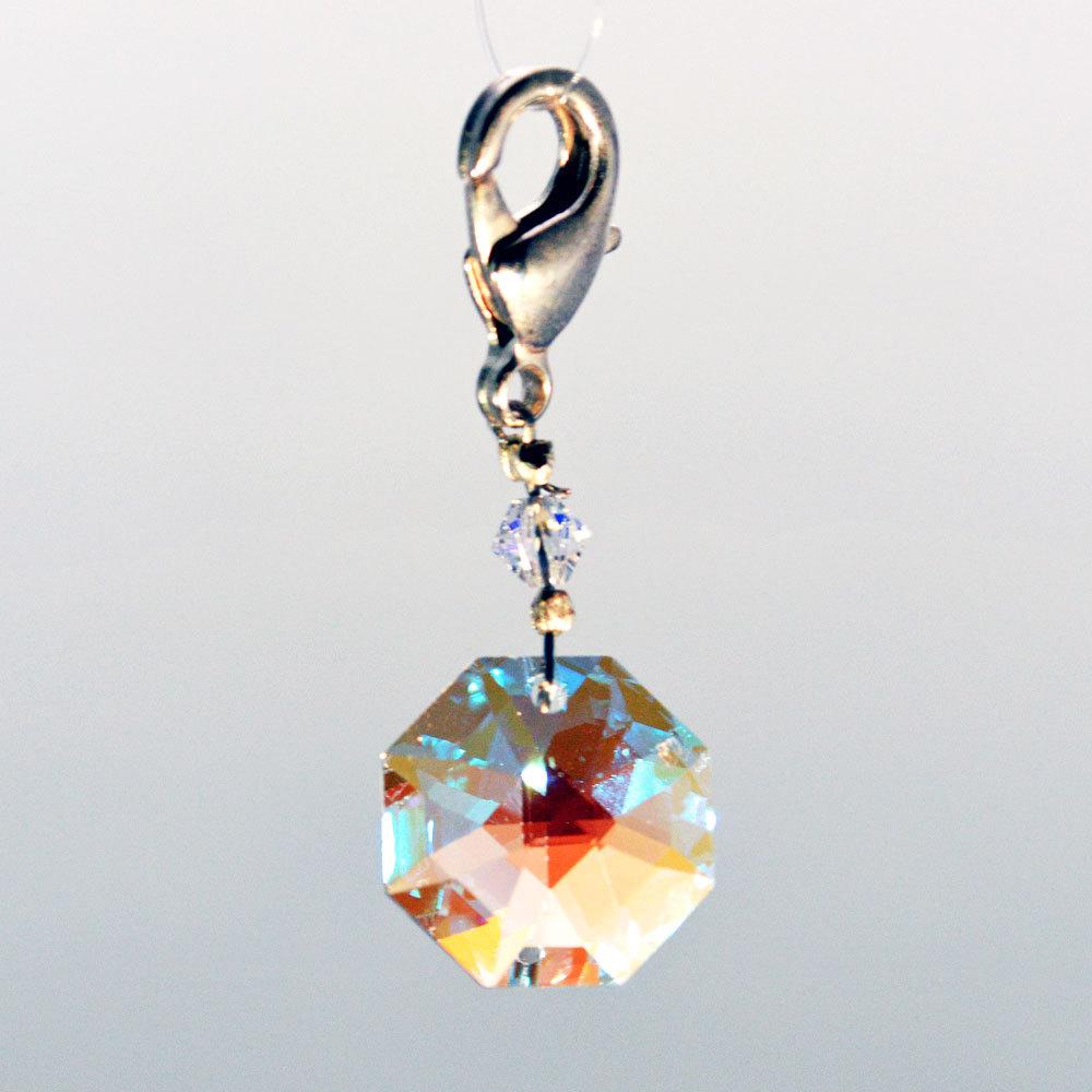 Crystal zipper pull zp02s 01