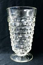 FOSTORIA AMERICAN CRYSTAL FOOTED ICED TEA GLASS GOBLET - FREE SHIPPING! - $25.00
